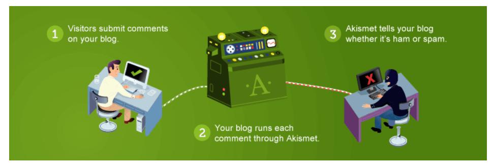 Akismet Anti-Spam Free WordPress Plugin