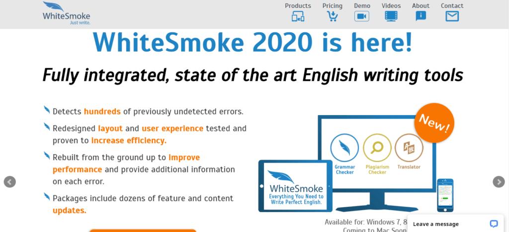 WhiteSmoke - Grammar Corrector Tool