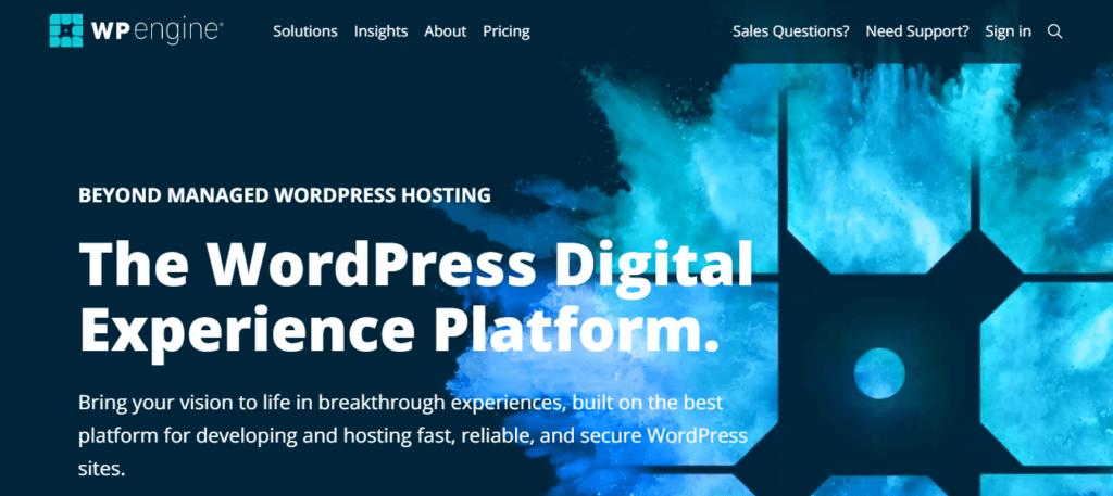 WP Engine: WordPress-Centric Managed Hosting