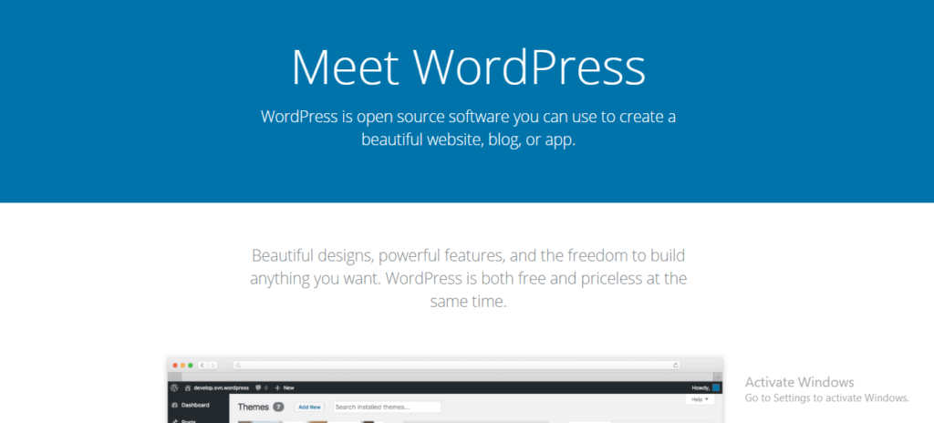 WordPress - Website Builder and Content Management System