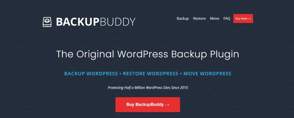 BackupBuddy WordPress backup plugin by itheme