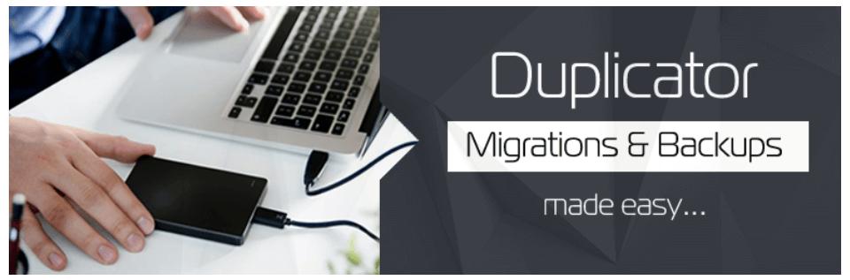 Duplicator Free WordPress Backup and Migration Plugin
