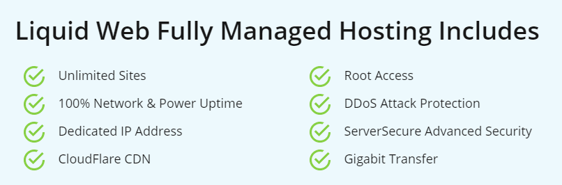 Features of the Managed VPS hosting