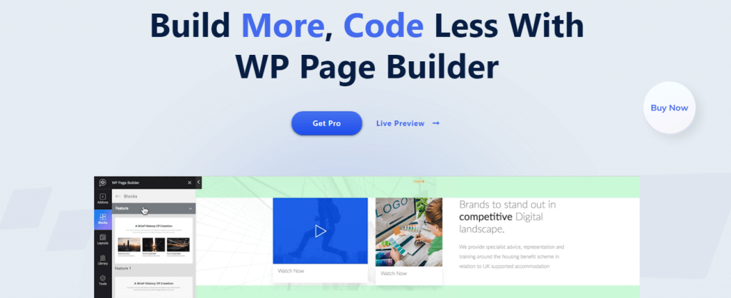WP Page Builder Plugin