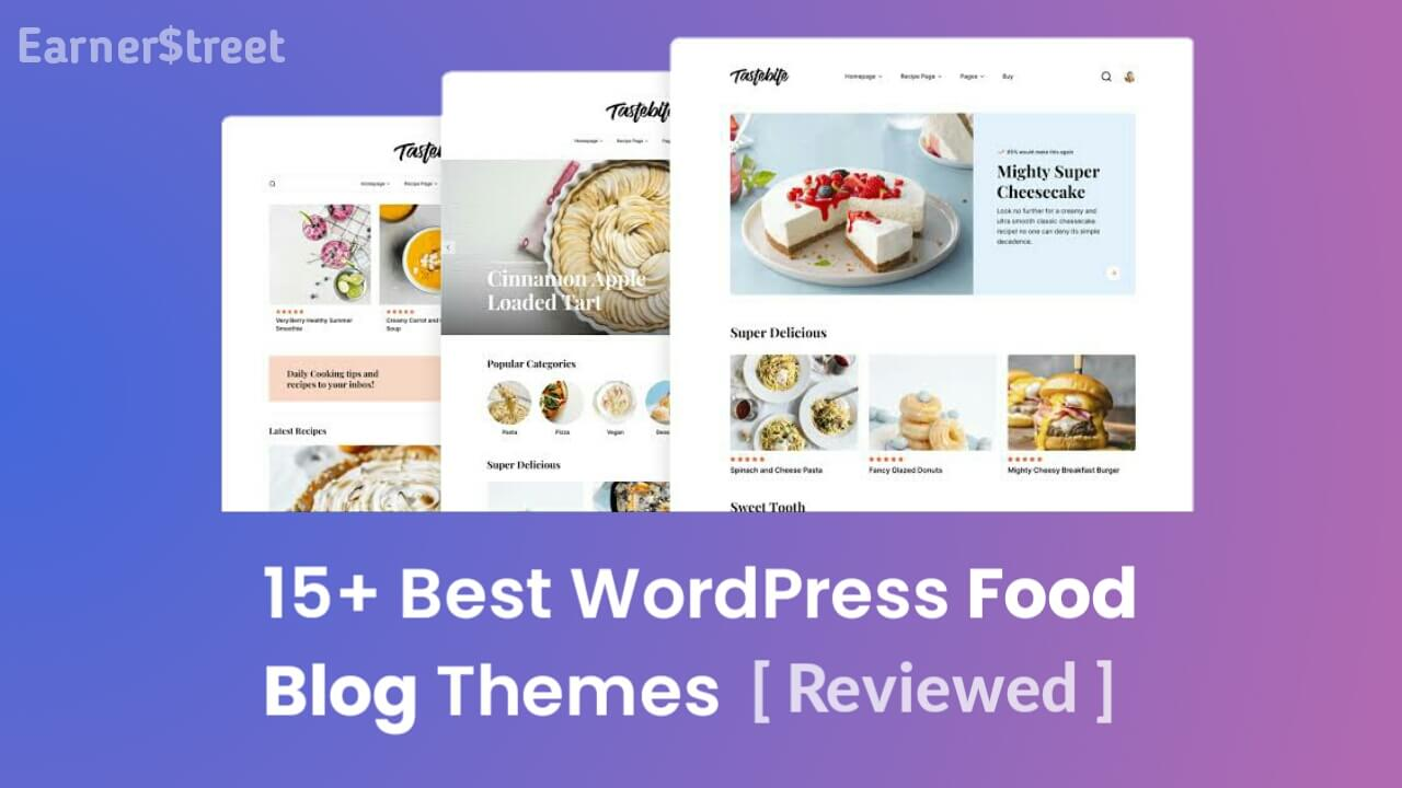 15+ Best Food Blog WordPress Themes for Sharing Recipes (2021)