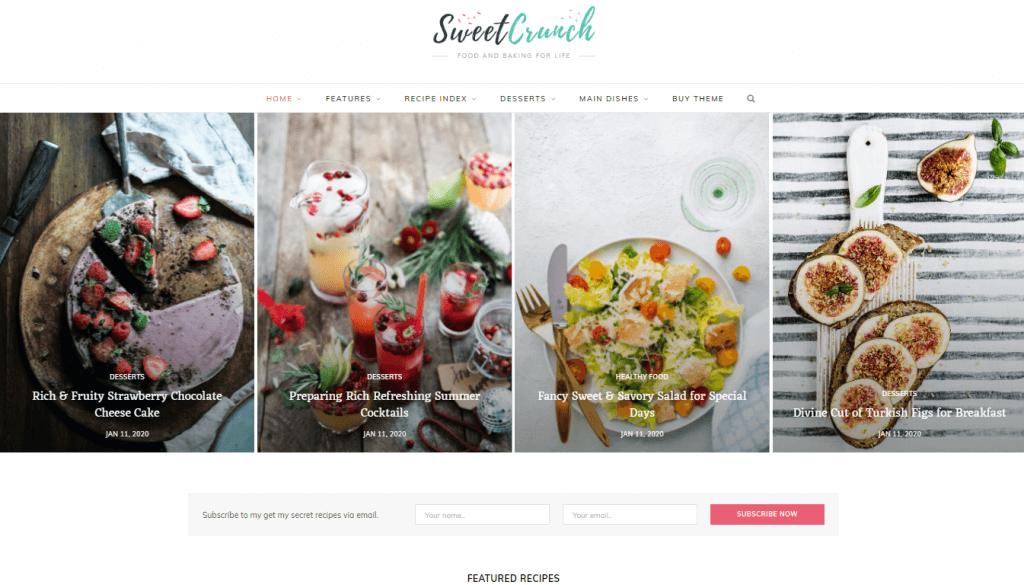 CheerUp - Food Blog & Magazine Theme