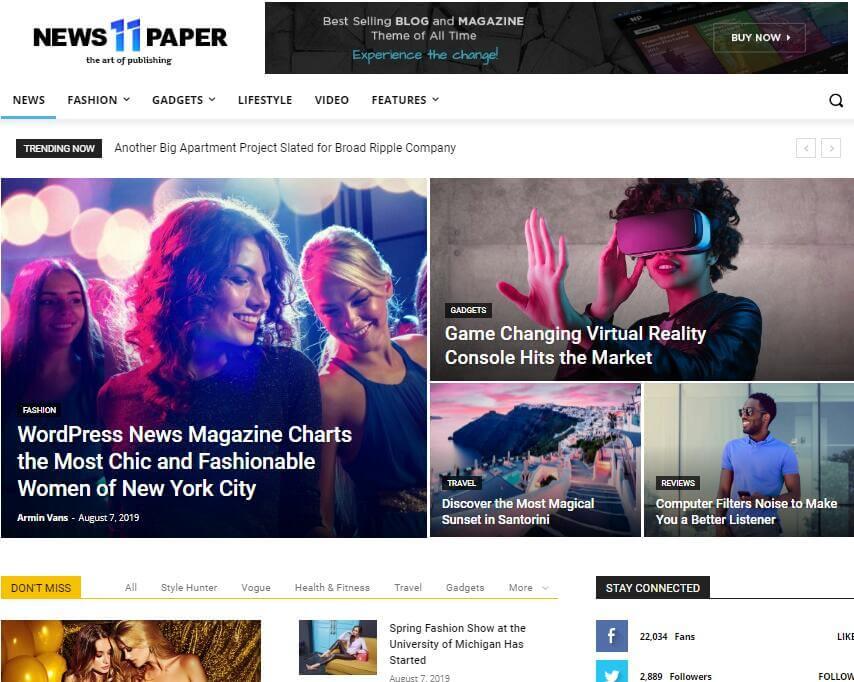 Newspaper - Multi-Purpose WordPress Theme