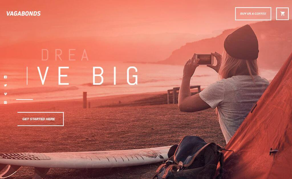Vagabonds - Personal Travel Blog WordPress Theme